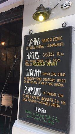 Bar de Carnes - Brasas & Pintas: Nuestro Menu