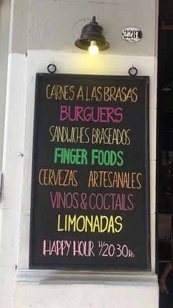 Bar de Carnes - Brasas & Pintas: Lo que ofrecemos!