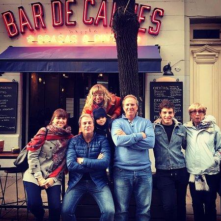 Bar de Carnes - Brasas & Pintas: Familias nos visitan también! Especialmente durante el día 