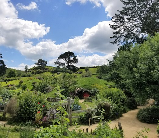 """Entering the Hobbiton Movie Set - site of filming for """"The Lord of the Rings"""" and """"The Hobbit"""" Trilogies"""