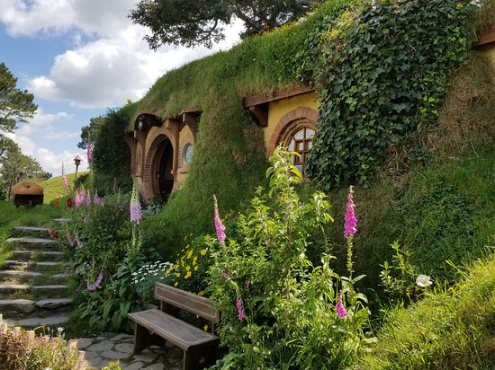 Bag End - the most luxurious Hobbit Hole and home to the Baggins Family