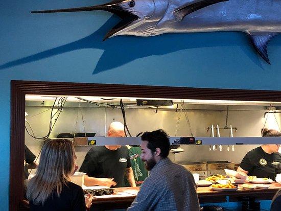 Fresh tasty seafood; saltwater Grill Corpus Christi