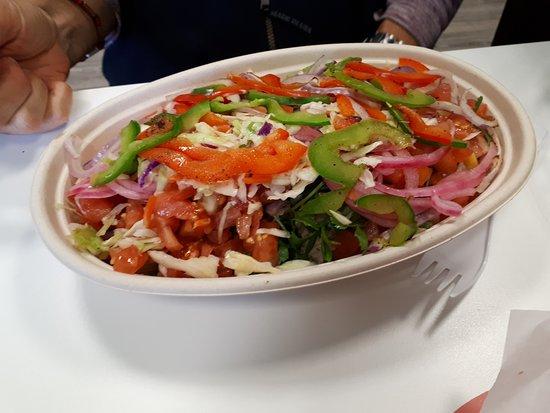 Quesada Burritos & Tacos: My wife's salad