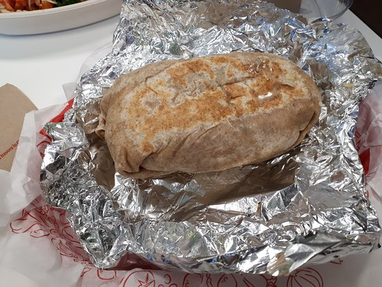 Quesada Burritos & Tacos: My  burrito