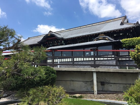 Yamashiro Hollywood: View from the side garden