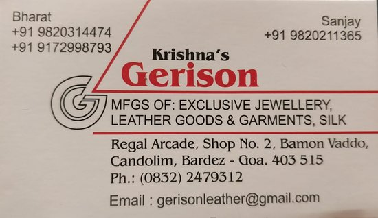 Gerison Leather & Jewels