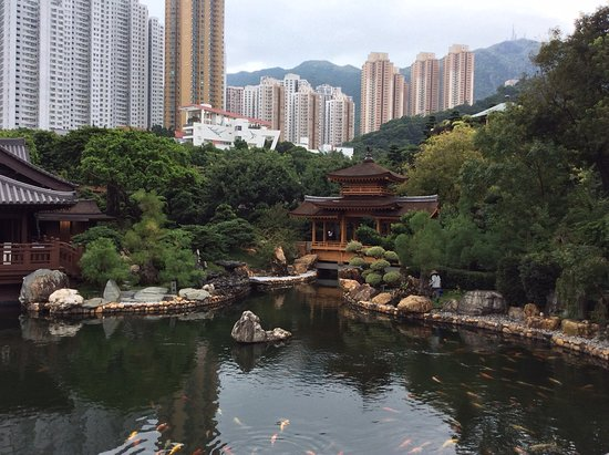 Hong Kong, China: Nan Lian garden