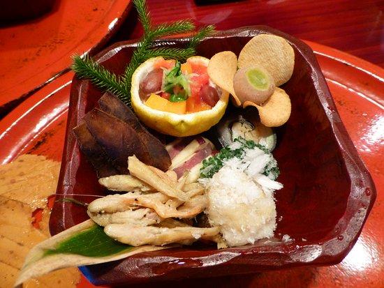 Sojiki Nakahigashi: 前菜