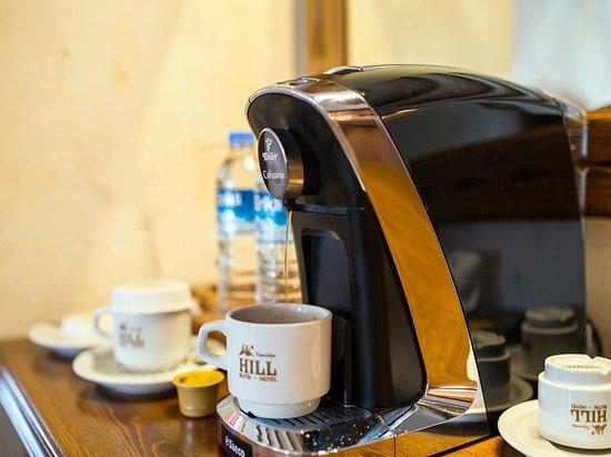Suite rooms coffee machine