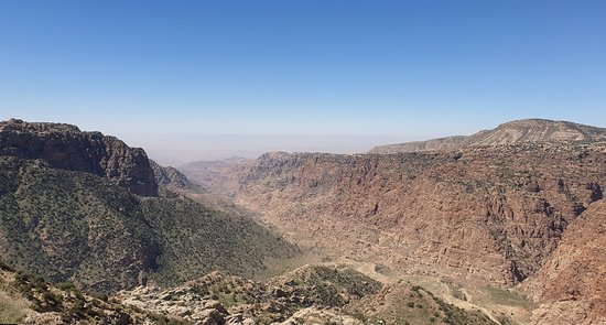 Panoramic view from Dana village
