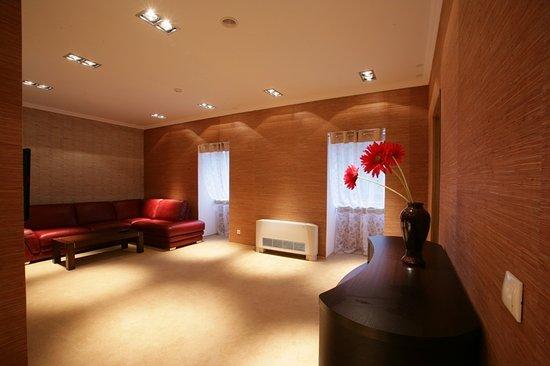 Dzhanhot Pension: Люкс - гостиная