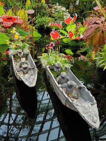 More quirky pond decorations
