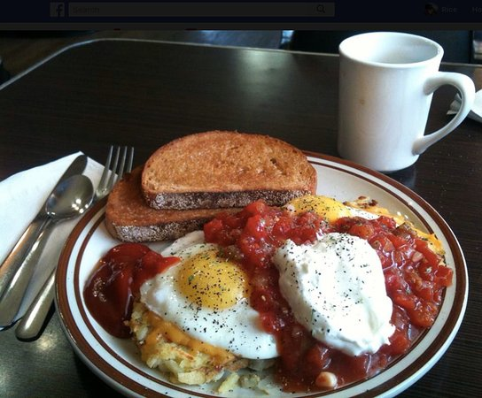 Five Corners Cafe: One of our signature brekkie.. Huevos Five Corners
