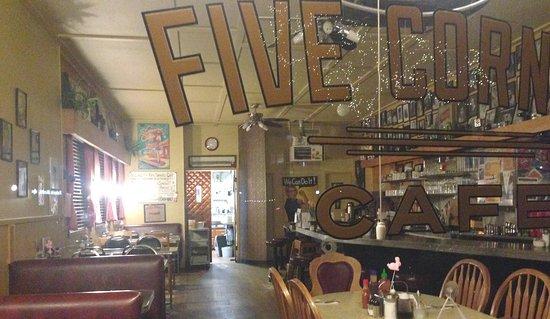 An after-hours peek into Five Corners Café - White Rock BC's little vintage Diner