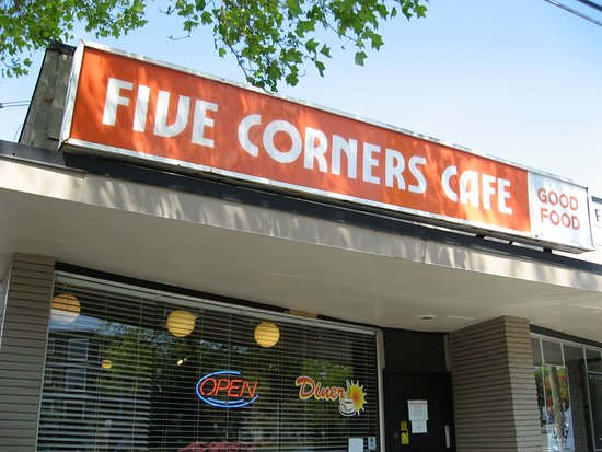 Five Corners Cafe: The little Diner down at the end of the block