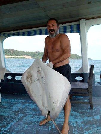 Viaje Asean: Día de pesca del Sr. Marcelo en la isla Phu Quoc 