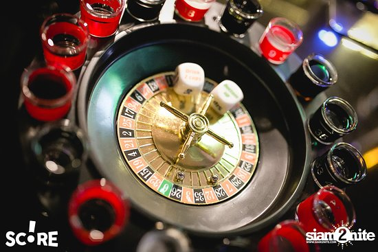 roulette with bomb shots are spinning!
