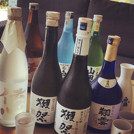 SAKE can serve by glass, bottle, cold or hot.