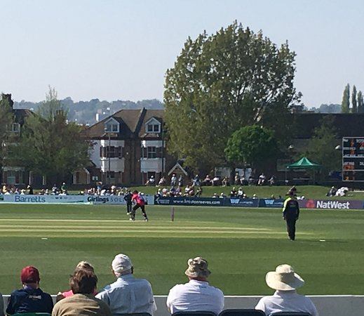 The County Ground: Batting