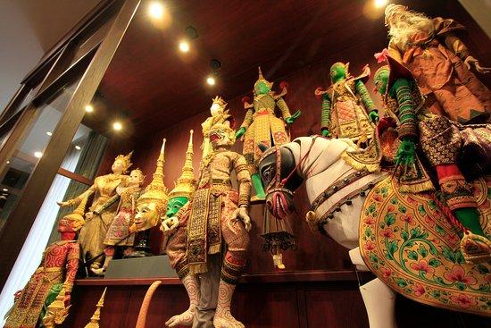 Sermkhun Kunawong Museum House: Thai puppets collection