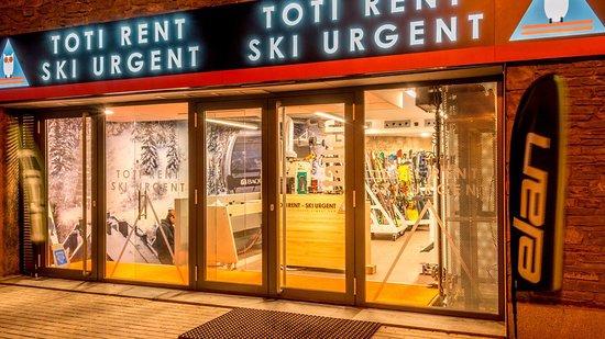 Toti Rent Ski urgent