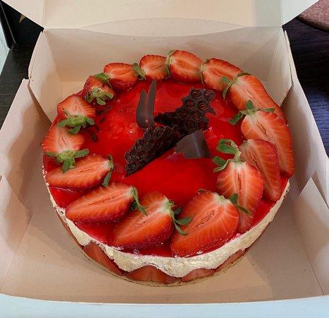 Délicieux fraisier