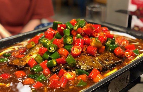 Cá tai tượng - Picture of Hao Yu Grilled Fish, Ho Chi Minh City ...