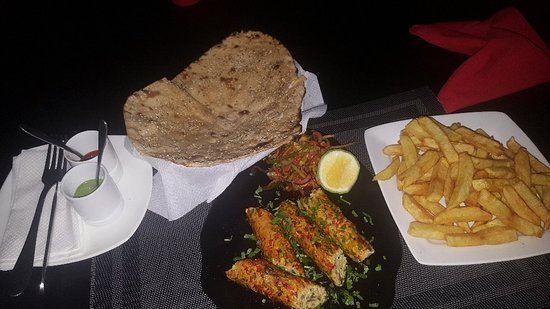 Some fantastic dishes of old and some new items on offer at the world famous 4 Points Entebbe , Uganda
