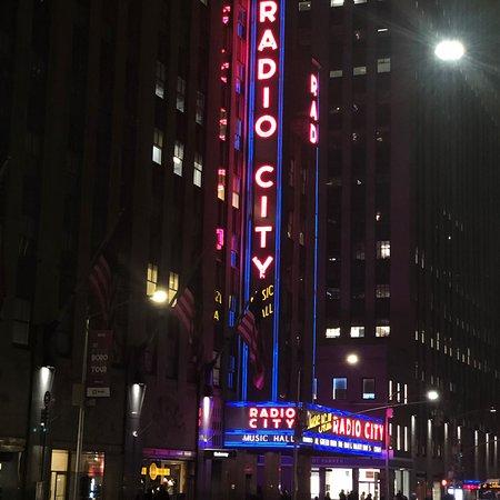 Radio City Music Hall: Street view
