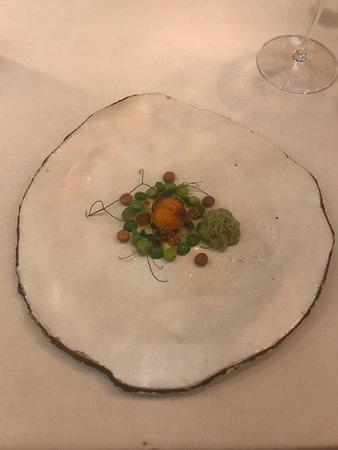 boniato and peas