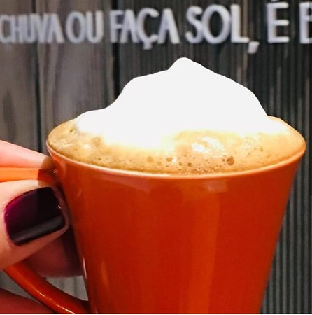 Da Pa Virada Gelateria Moema: E depois de tantas delícias de Páscoa, que tal um cafezim pra começar a semana? ☕