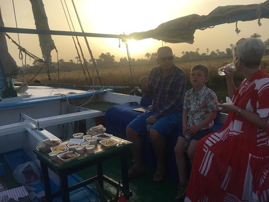 dinner on the Nile
