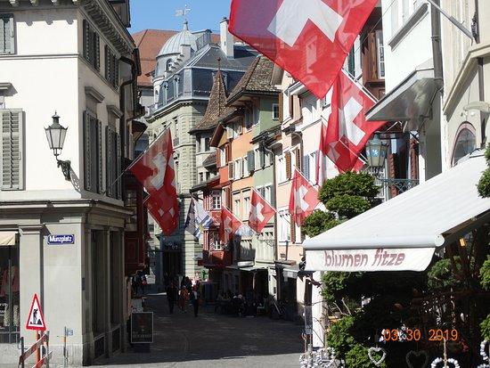 Old Town: Το ιστορικό κέντρο της Ζυρίχης