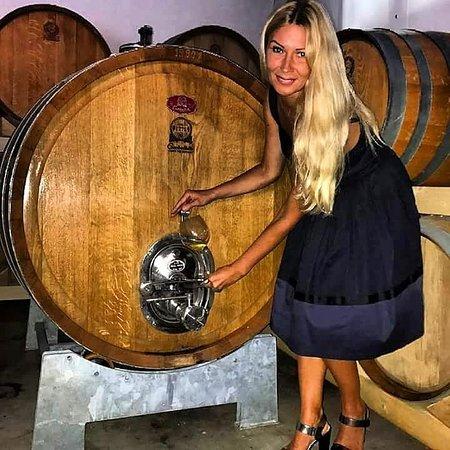 Camporeale, Italija: Приглашаю на винодельни Сицилии. В очень уютное местечко на холме 450 метров,30 000 Га виноградника и прекрасные пейзажи сельхозугодий. 9 разновидностей элитных белых и красных вин высокого качества, из бочек barrique, отмеченных медалью на европейских выставках. Нас встретит семья винодела, они давно проживают там же. Очень гостеприимные и порядочные люди. Их дегустации больше похожи на семейные праздничные обеды с продукцией этой зоны: рикотта, выпечка,оливы, колбасы, сыры, овощи, фрукты.