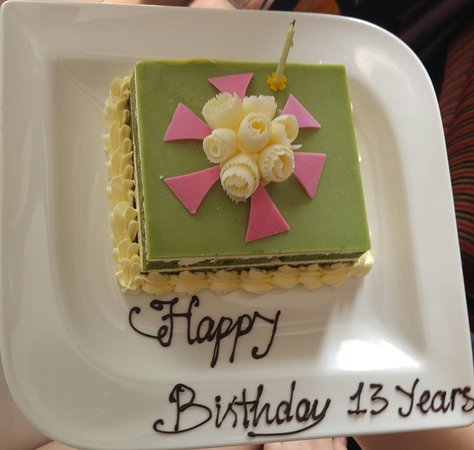Personal touch - birthday cake for my daughter