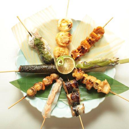 Kurayashiki Ibukichi: 新鮮な魚を一本一本丁寧に焼いた「魚串」