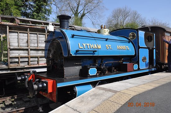 Steam rides - use your ticket as many times as you like all day during your visit