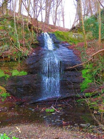 Cupar, UK: waterfall