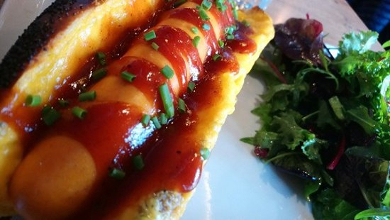 Crok House: hot dog