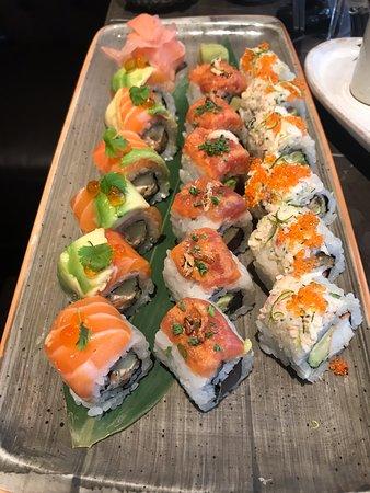 Laurent at Cafe Royal: sushi