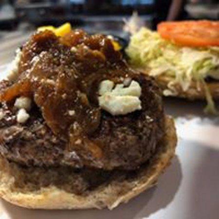 Boursin Bacon Burger