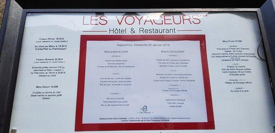 Restaurant Le Voyageurs : Les voyageurs (1)