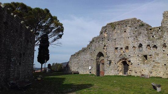 Civitella in Val di Chiana, Italia: Le mura