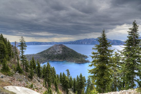 Rim Drive: Crater Lake from the drive.
