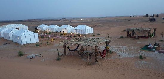 Vista del campamento