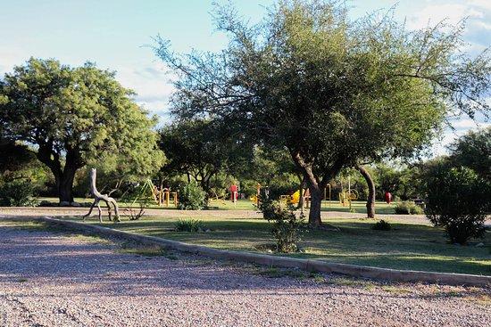 Los Molles, อาร์เจนตินา: Áreas en común - Vista de la plaza