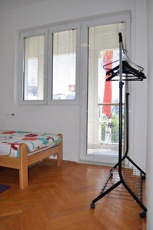 Skopje, Republic of North Macedonia: Bedroom 2 view