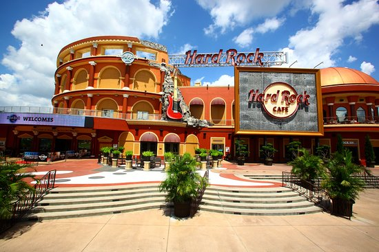 Hard Rock Cafe Orlando Florida Center Menu Prices