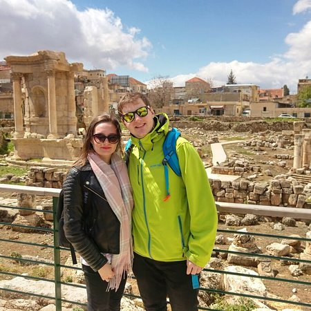 Libanon: A pleasant trip to the temples of Baalbek with a couple from the Czech Republic