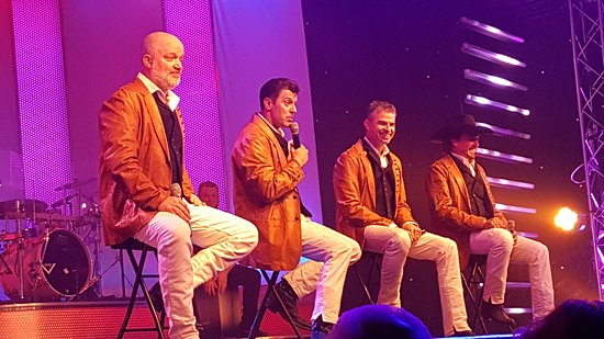 The Group Singing Picture Of Pierce Arrow Theater Branson